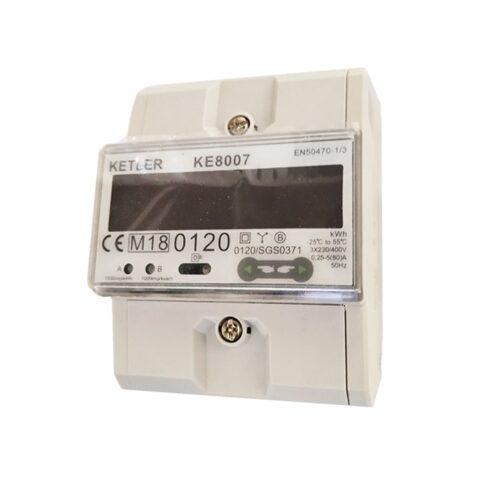 Compteur d'énergie 80A Tétra certifié MID - KE8007