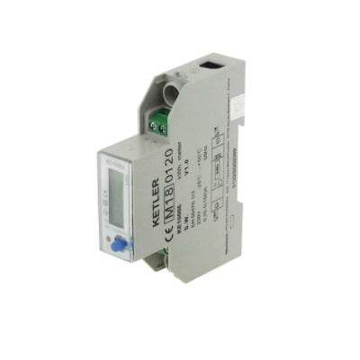 Compteur d'énergie Monophasé - 100A certifié MID - KE10006
