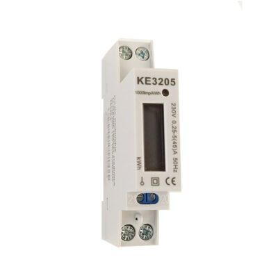 Compteur d'énergie Monophasé - 45A - Affichage LCD - KE3205