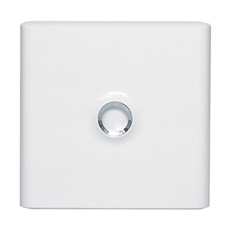 Porte blanche pour coffret Drivia 13 modules - 1 rangée - 401331